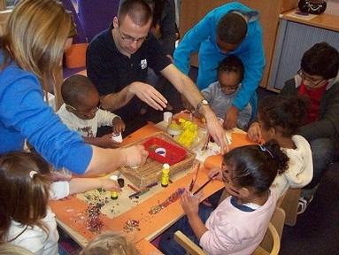 Christopher Dean, Pre-school Learning Alliance nursery assistant