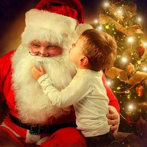 Santa impersonators do not stop children believing father christmas is