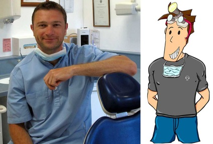 Ben Underwood, dentist and creator of Brush DJ