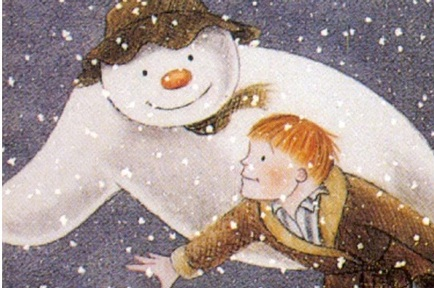A still from the TV animation of The Snowman Credit:  Moviestore/Rex/Shutterstock