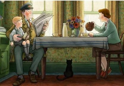A still from film animation Ethel and Ernest Credit: Vertigo Films