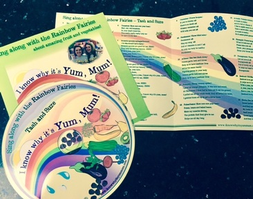 Children love joining in with the Rainbow Fairy's fun songs and actions from the CD