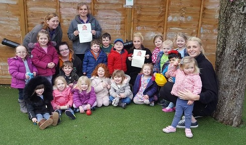 A Top 10 nursery - Elmdon Day Nursery in the West Midlands