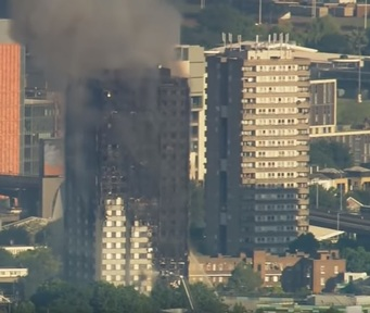 Grenfell Tower Credit: Channel 4 News