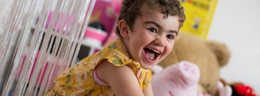 Four-year-old returns to nursery after life-saving bone marrow transplant