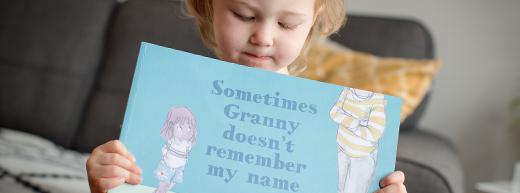 Picture book helps children make sense of Granny's dementia