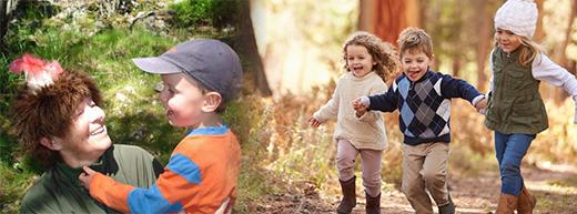 Sweden's 'Skogsmulle' teaches UK's forest school children resilience
