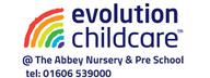 Evolution Childcare @ The Abbey Nursery School logo