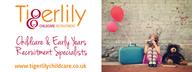 Tigerlily Childcare Recruitment logo