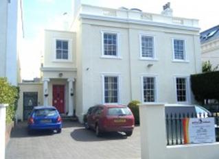 Puffins at Manston Terrace, Exeter, Devon