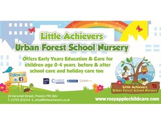 Little Achievers Urban Forest School Nursery, Preston, Lancashire