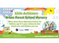 Little Achievers Urban Forest School Nursery