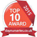 Day Nurseries Top 10 award for Bright Kids Crabbs Cross