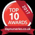 daynurseries.co.uk Top 10 Nursery Awards 2017