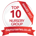 Tommies Childcare Top 10 Day Nursery Award Winner